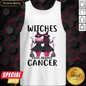 Witchcraft Witches Unite Against Cancer Tank Top