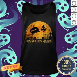 Witches With Hitches Halloween Camping Gift Tank Top