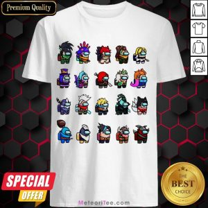 Funny Among Us X League Of Legends Games Shirt- Design by Meteoritee.com