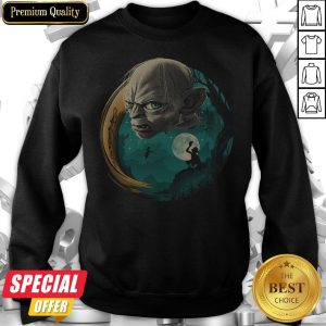 Funny Halloween Gollum Sweatshirt