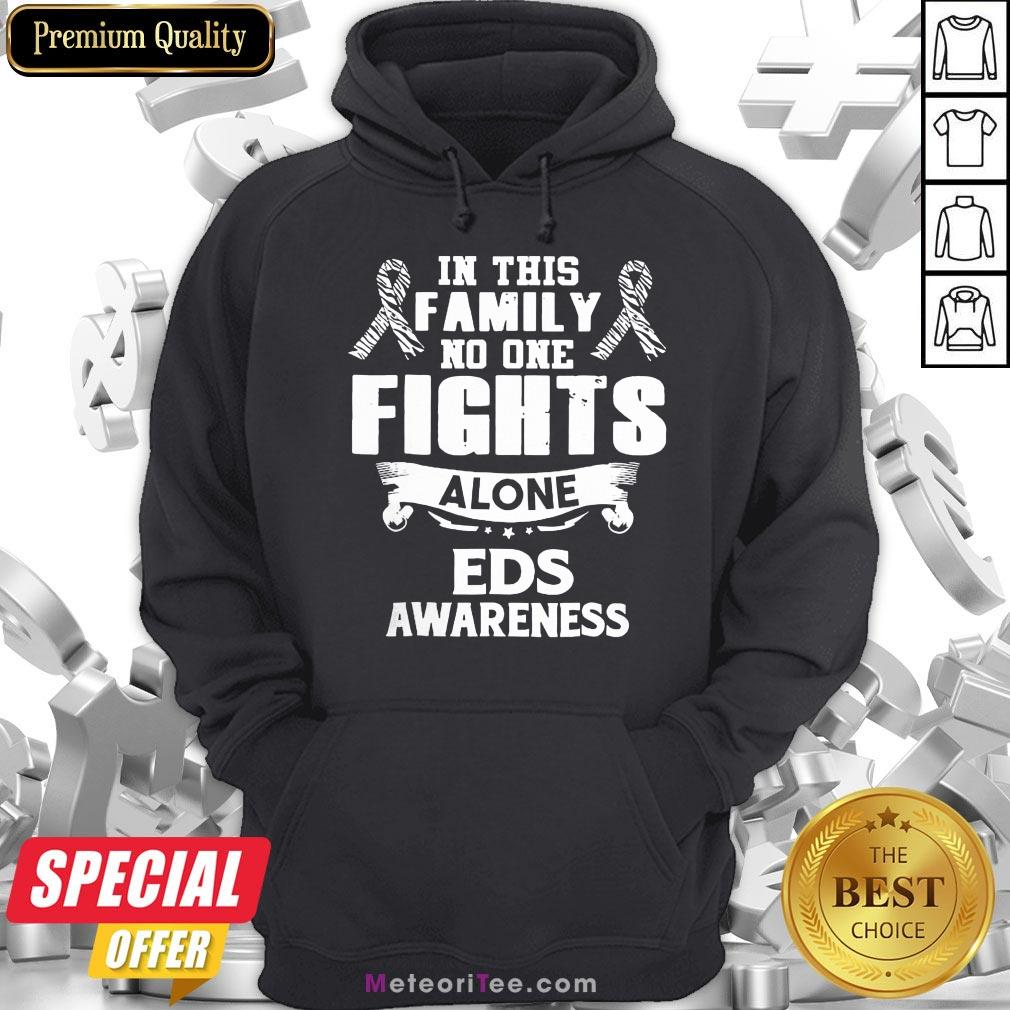 Good No One Fights Alone Eds Awareness Hoodie- Design by Meteoritee.com