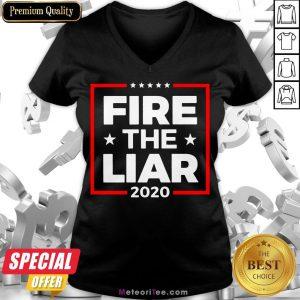Hot Fire The Liar 2020 V-neck- Design by Meteoritee.com