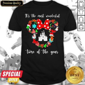 Merry Christmas Disney It's The Most Wonderful Time Of The Year Shirt