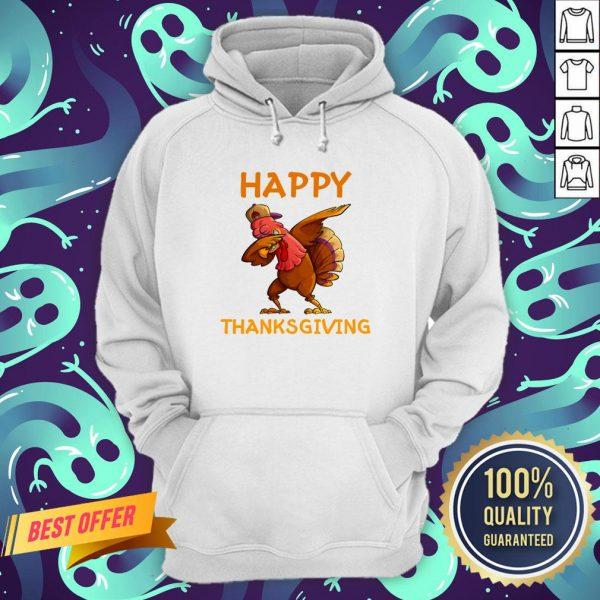 Nice Turkey Happy Thanksgiving Day Hoodie