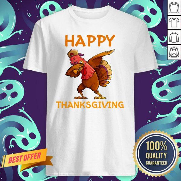 Nice Turkey Happy Thanksgiving Day Shirt