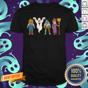 Party Friends Character Happy Halloween Shirt