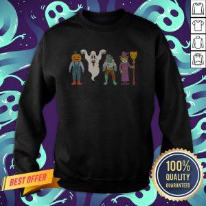 Party Friends Character Happy Halloween Sweatshirt