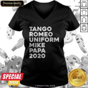 Tango Romeo Uniform Mike Papa 2020 V-neck