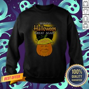 Trump 2020 Trumpkin Making Halloween Great Again Pumpkin Sweatshirt