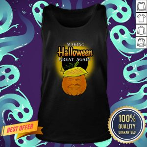 Trump 2020 Trumpkin Making Halloween Great Again Pumpkin Tank Top