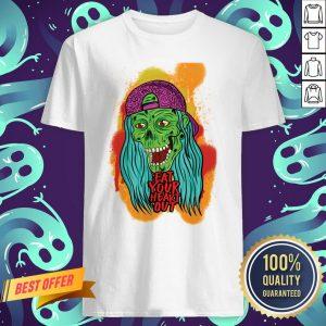 Zombie Chick Eat Your Heart Out Dia De Los Muertos Day Dead Shirt