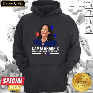 Awesome Madam Vice President Kamala Harris Short-Sleeve Hoodie