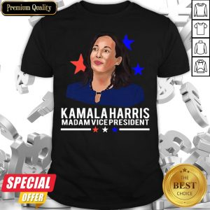 Awesome Madam Vice President Kamala Harris Short-Sleeve Shirt