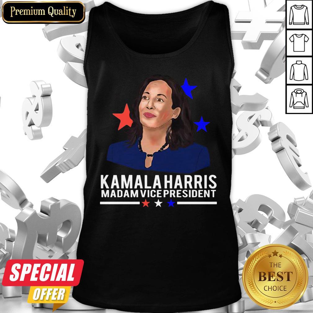 Awesome Madam Vice President Kamala Harris Short-Sleeve Tank Top