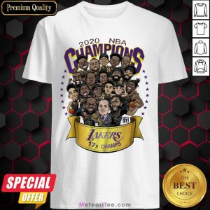 Top 2020 NBA Champions Los Angeles Lankers 17 Champs Shirt