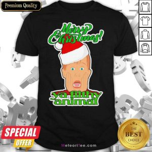 Top Home Alone Movie Santa Merry Christmas Ya Filthy Animal Shirt