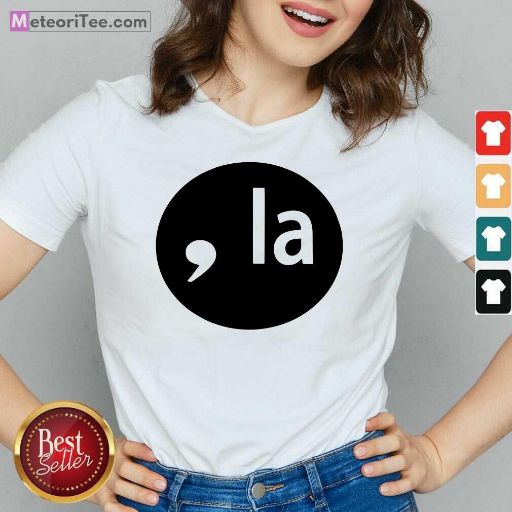 Comma La 2020 V-neck - Design By Meteoritee.com