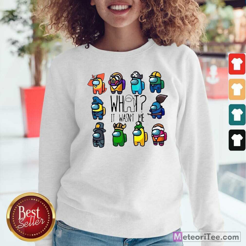 Ua Wildcats Forever Association Hat Black Shirt Hot Among Us What It Wasn't Me Sweatshirt- Design By Meteoritee.com
