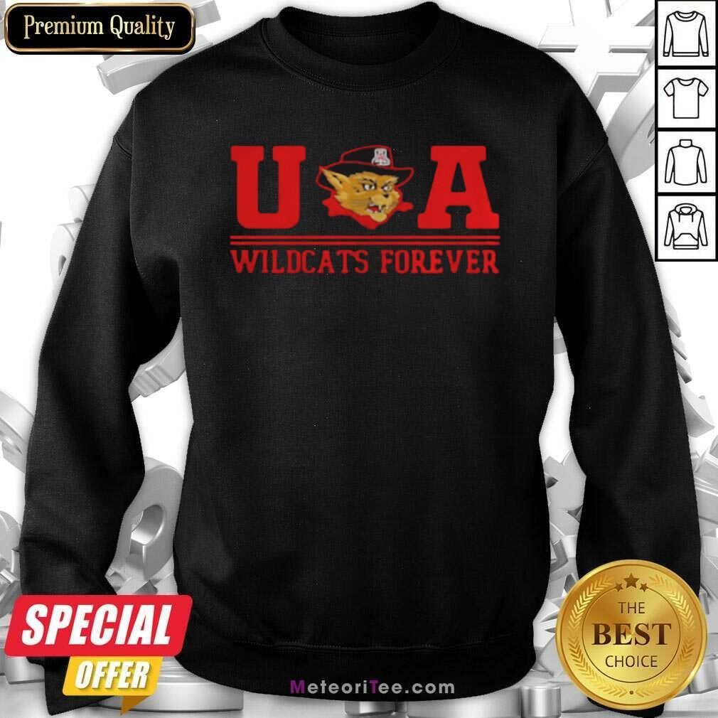 Ua Wildcats Forever Association Hat Black Sweatshirt - Design By Meteoritee.com
