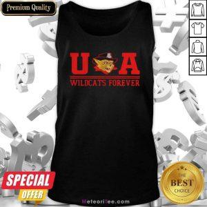 Ua Wildcats Forever Association Hat Black Tank Top - Design By Meteoritee.com