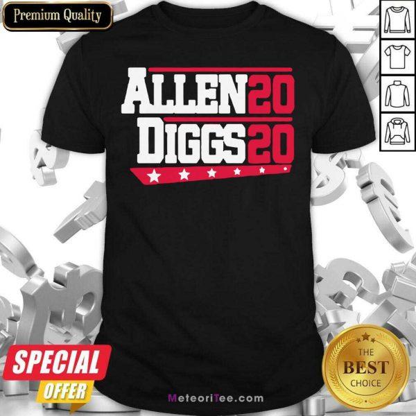 Buffalo Bills Allen Diggs 2020 Shirt- Design By Meteoritee.com