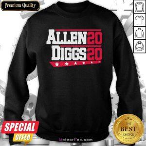 Buffalo Bills Allen Diggs 2020 Sweatshirt- Design By Meteoritee.com