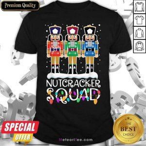Nutcracker Squad Merry Christmas Shirt- Design By Meteoritee.com