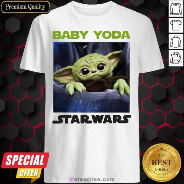 Baby Yoda Star Wars Shirt - Design By Meteoritee.com