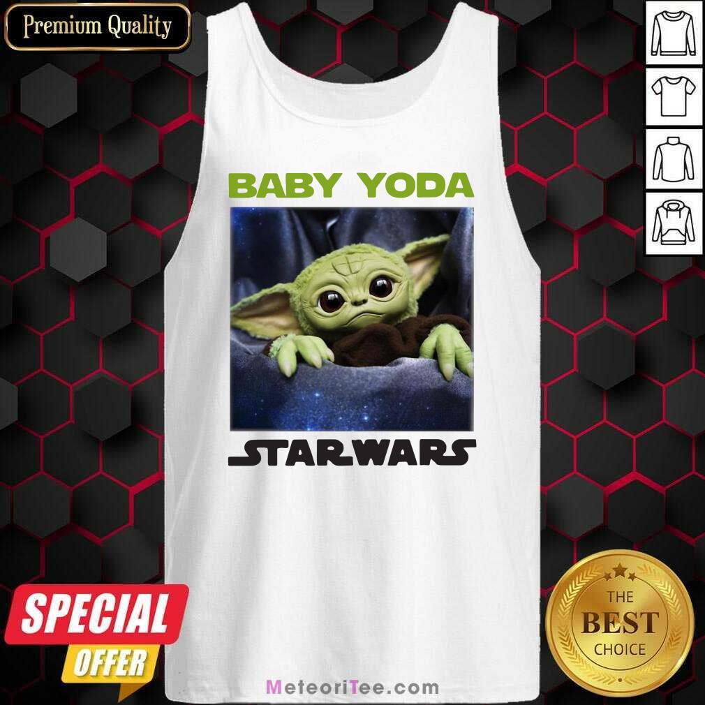 Baby Yoda Star Wars Tank Top - Design By Meteoritee.com