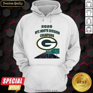 Green Bay Packers 2020 Nfc North Division Champions Tampa Hoodie - Design By Meteoritee.com
