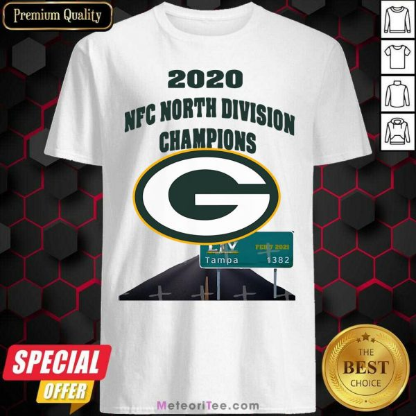 Green Bay Packers 2020 Nfc North Division Champions Tampa Shirt- Design By Meteoritee.com