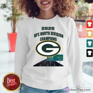 Green Bay Packers 2020 Nfc North Division Champions Tampa Sweatshirt- Design By Meteoritee.com