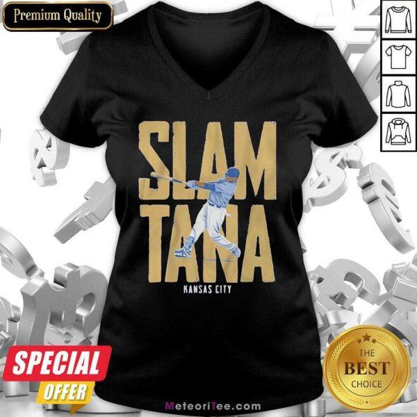Slamtana Kansas City V-neck - Design By Meteoritee.com