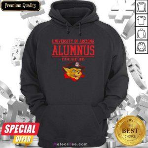 University Of Arizona Alumnus Established 1885 Hoodie - Design By Meteoritee.com