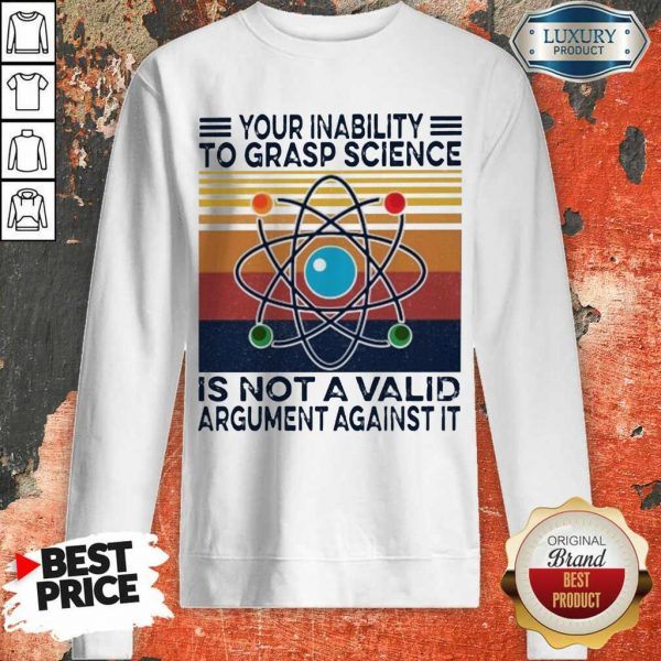 Annoyed A Valid Argument Against It Vintage Sweatshirt