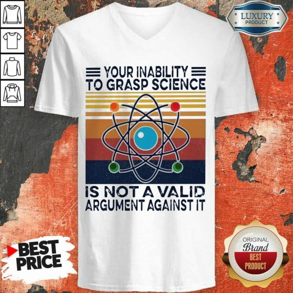 Annoyed A Valid Argument Against It Vintage V-neck