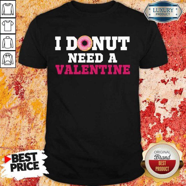 Bored I Donut Need 26 A Valentine Shirt - Design by Meteoritee.com