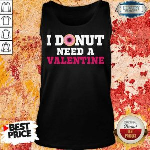 Bored I Donut Need 26 A Valentine Tank Top - Design by Meteoritee.com
