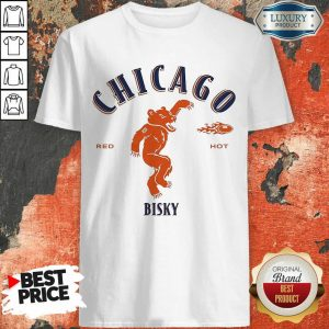 Upset Chicago Bears Red 2 Hot Bisky Shirt - Design by Meteoritee.com