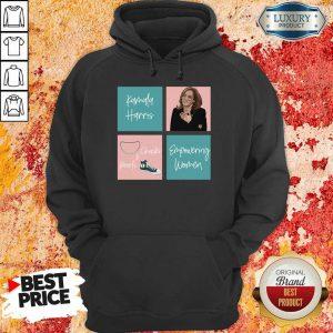 Upset Kamala Harris Mandrins Et Perles DAutonomisation Des Femmes 2021 Hoodie - Design by Meteoritee.com