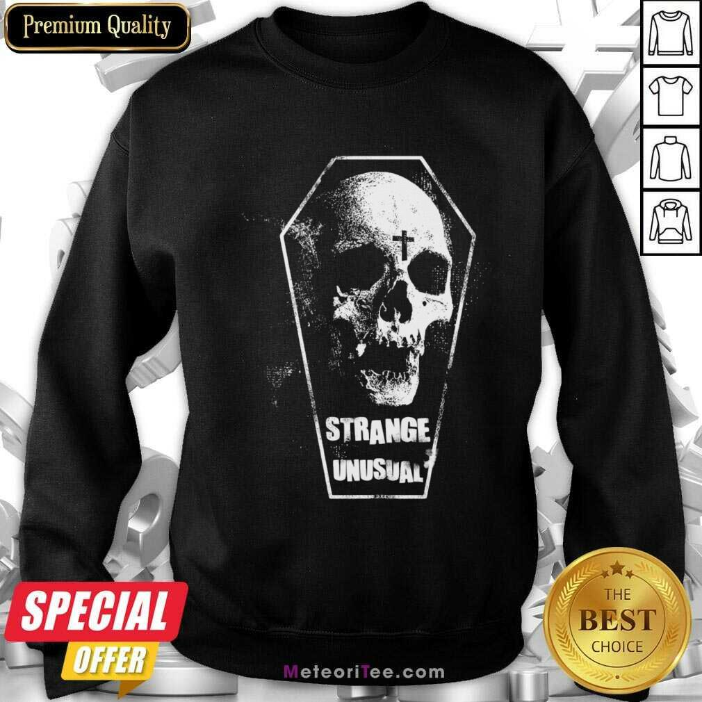 Alternative Aesthetic Goth 5 Strange Unusual Sweatshirt - Design By Meteoritee.com