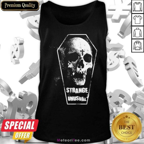 Alternative Aesthetic Goth 5 Strange Unusual Tank Top - Design By Meteoritee.com
