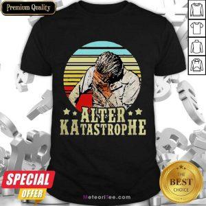 Nice Alter Katastrophe Vintage Shirt