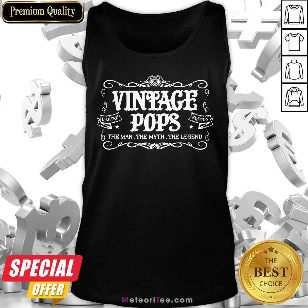 Vintage Pops 1 Limited Edition Tank Top - Design By Meteoritee.com