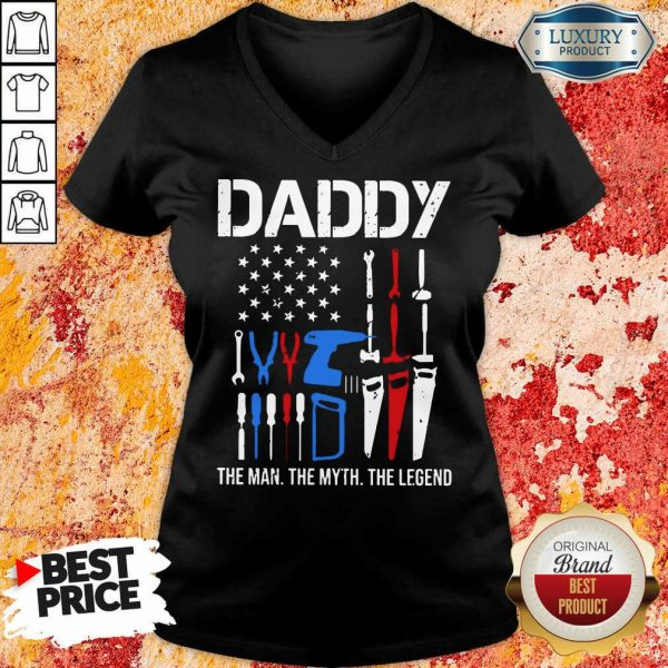 Daddy The Man The Myth The Legend V-neck