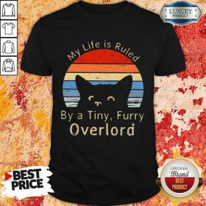 My Life Is Ruled By A Tiny Overlord Vintage Shirt