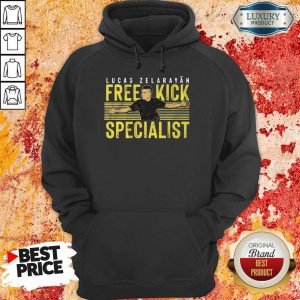 Lucas Zelarayán Free Kick Specialist Hoodie