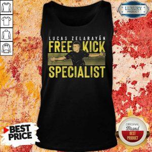 Lucas Zelarayán Free Kick Specialist Tank Top